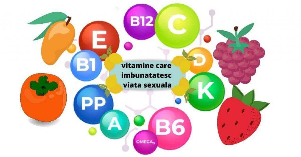 îmbunătățiți viața sexuală cu vitamine